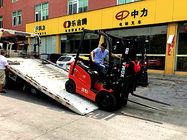 Small Turning Radius Electric Counterbalance Truck Fast Charging 48V 600Ah 1.6T